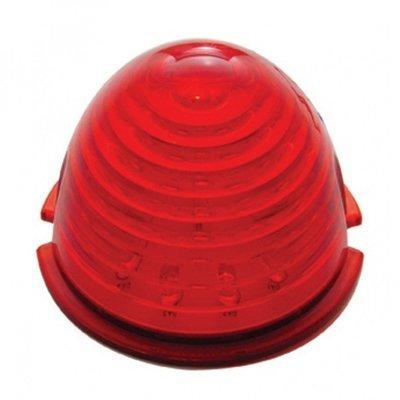 17 LED Beehive Cab Light - Red LED/Red Lens