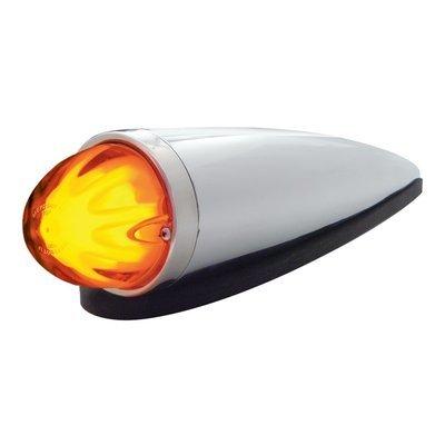 9 LED Dual Function Watermelon Cab Light Kit - Amber LED/Amber Lens