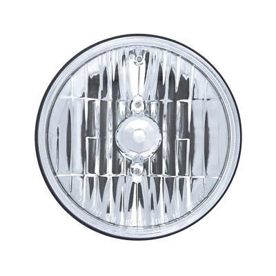 Crystal Halogen Headlight Bulb H5001/H5006, Round, 5-3/4