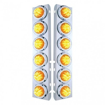 Front Air Cleaner LED Beehive Light Panels for Peterbilt