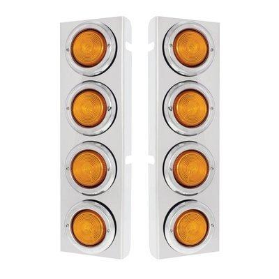 Front Air Cleaner Light Panels for Peterbilt