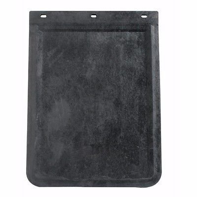 Black Front Rubber Mud Flaps, 18