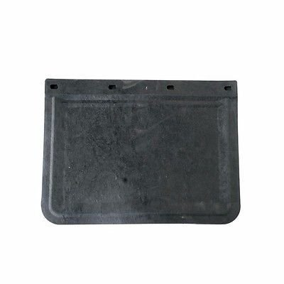 Black Front Rubber Mud Flaps, 20