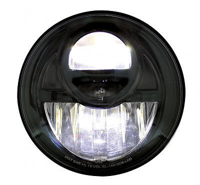 Daylight Projection Headlight, 5 LED, 7