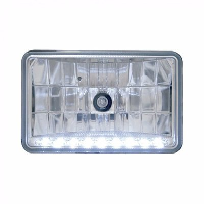 Headlight Bulb with 9 White LEDs Position Light, 4