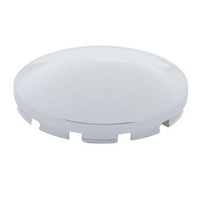 Chrome Plastic Dome Front Hub Cap Only