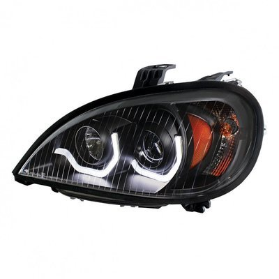 Projection Headlight, Blackout - Driver Side for Freightliner Columbia 1996+