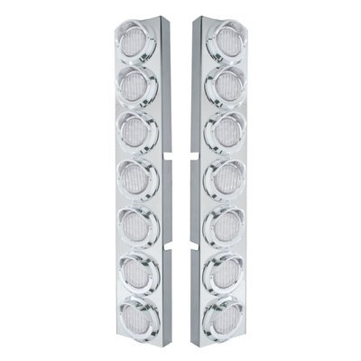 Front Air Cleaner LED Clear Lens Lights for Kenworth