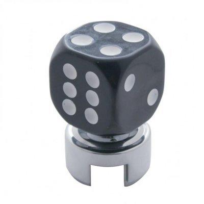 Black Dice 13/15/18 Speed Gearshift Knob w/ Adapter