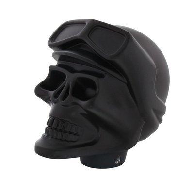Black Skull Biker Gearshift Knob
