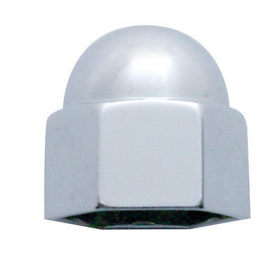 Acorn Chrome Die Cast Nut Cover, 1/2