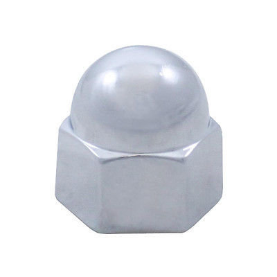 Acorn Chrome Die Cast Nut Cover, 9/16