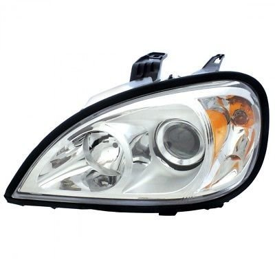 Projection Headlight, Chrome - Driver Side for 1996+ Freightliner Columbia