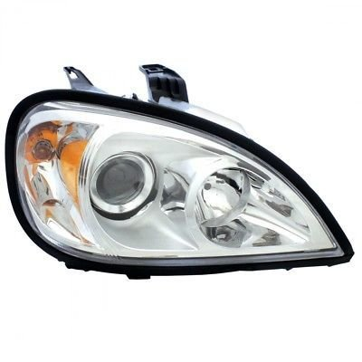 Projection Headlight, Chrome - Passenger Side for 1996+ Freightliner Columbia