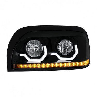 Projection LED Blackout Headlight for Freightliner Century