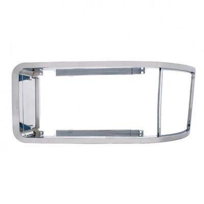 Headlight Bezel, Chrome for 1988-2008 Mack CH600 - Driver or Passenger Side