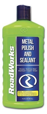 Roadworks Metal Polish & Sealant - 12 fl oz Bottle
