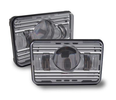 4 Inch x 6 Inch High or Low Beam LED Headlight