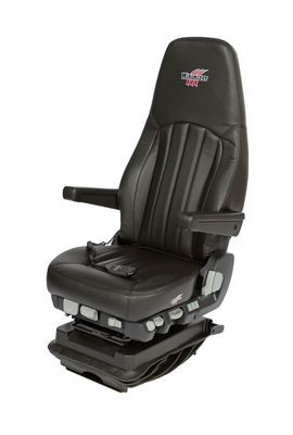 Minimizer Long Haul Series Ultra Leather Seat with Heat and Massage