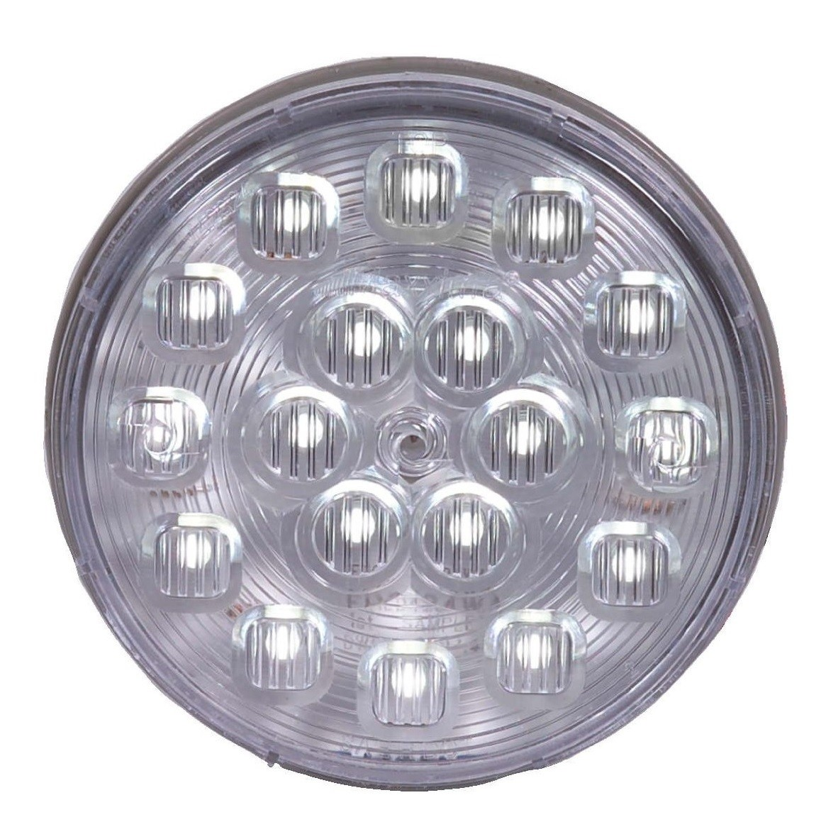 18 LED White 4'' Round Backup Light