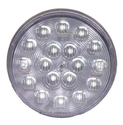 18 LED White 4'' Round Backup Light