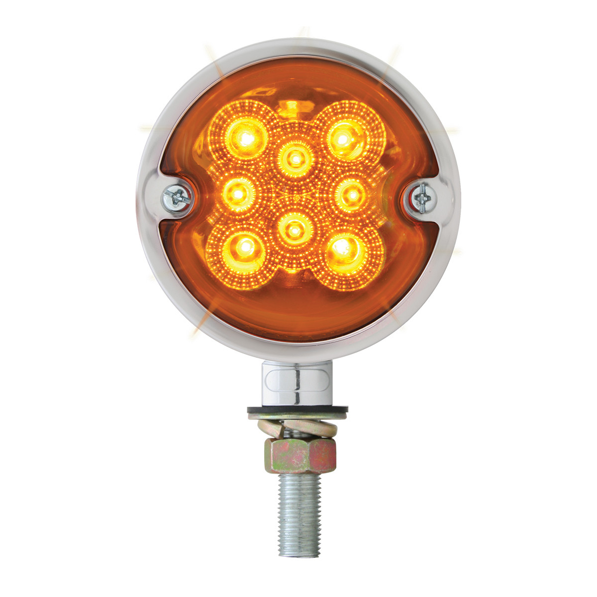 Double Face Spyder LED Pedestal Light