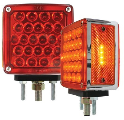 Square Double Face Pearl LED Light Dual Pack