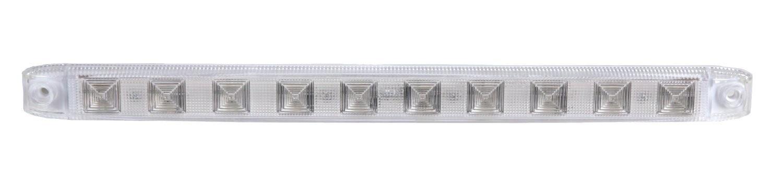 White Rectangular Surface Mount LED Backup Strip Light