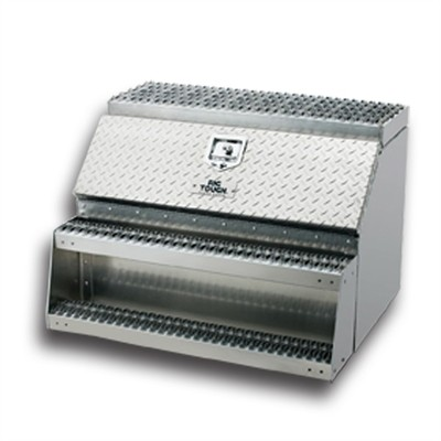 36 Inch Rugged Aluminum Step Tool Box