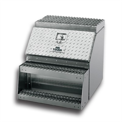 24' Rugged Aluminum Step Tool Box
