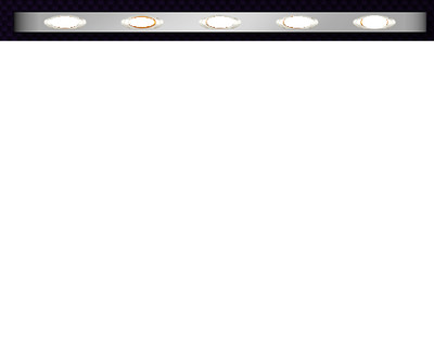 Peterbilt 379/389 Sleeper Extension Panel with 5 LED Lights 63 Inch