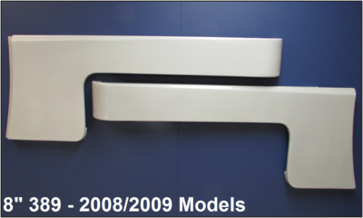 Peterbilt 389 Cab/Cowl Panels 8 Inch