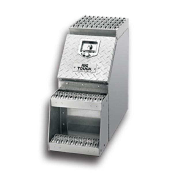 12 Inch Aluminum Step Tool Box