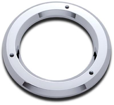 4 Inch Round Chrome Bezel