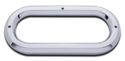 6 Inch Chrome Bezel-Oval