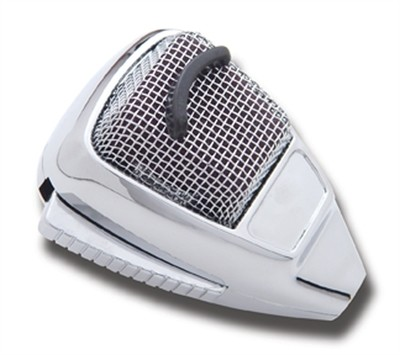 Chrome A'636 C.B. Microphone Cover w/o Visor