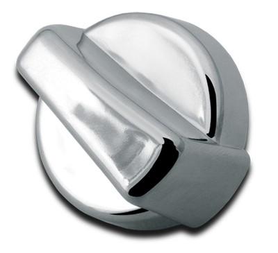 Knob - Chrome A/C Heater Control for Peterbilt 379