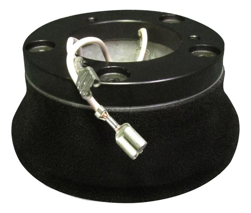 Steering Wheel Hub Kit Economy 3 Hole Black for International