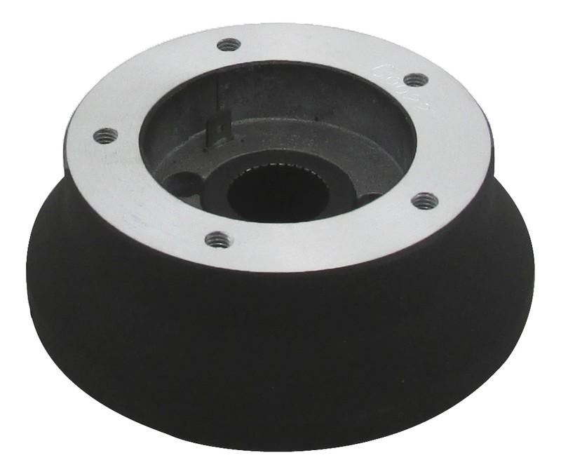 Steering Wheel Hub Kit Luxury 5-Hole Black for International