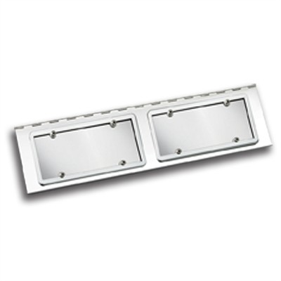 Double License Plate Hangers