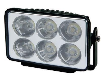 ECCO 6 LED Spot Beam, Rectangle