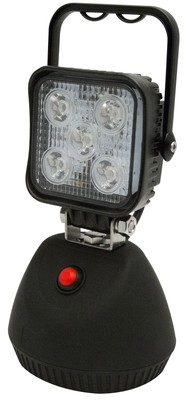Magnetic Rechargeable 5 LED Flood Beam Light in Black or Camo