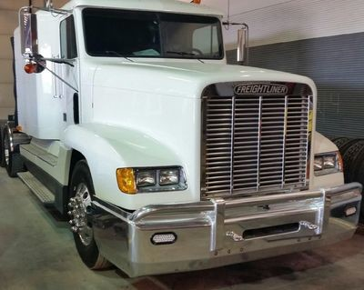 Freightliner 1984-2004 Classic & FLD 120 Set Back Axle Defender Bumper Guard with Different Options