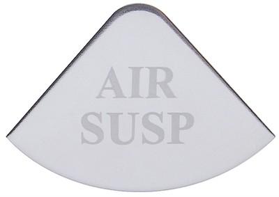 Gauge Plate Emblem - Air Suspension for Freightliner