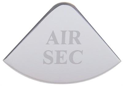 Gauge Plate Emblem - Air SEC for Freightliner