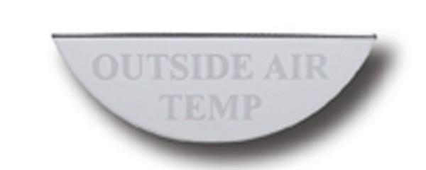 Gauge Plate Emblem - Outside Air Temperature for Freightliner