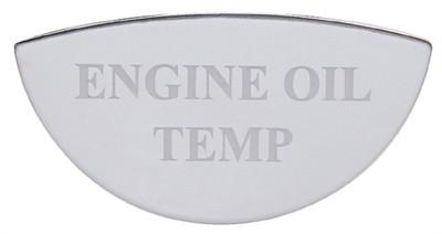 Gauge Plate Emblem - Engine Oil Temperature for Freightliner
