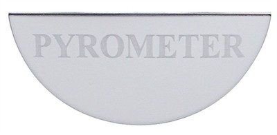 Gauge Plate Emblem - Pyrometer (Small) for Freightliner