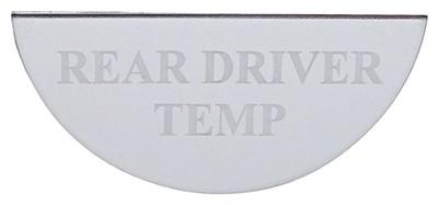 Gauge Plate Emblem - Rear Driver Temperature for Freightliner