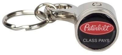 Peterbilt Piston Key Chain